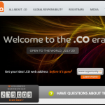 CODomain 150x150 4 Websites to buy .Co Domain Extension