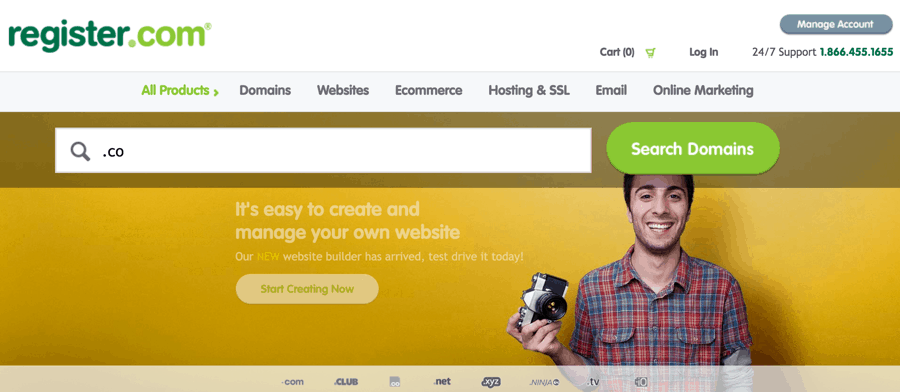 4 Websites to buy .Co Domain Extension