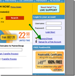 signupnamecheap thumb How to Buy Domain Name from NameCheap