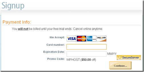Finalsetup thumb How to Sign Up for Dreamhost With $50 Discount Coupon