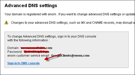 advancedDNSsettings thumb How to Change DNS for Domain Bought from Google to Bluehost