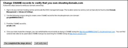 cName thumb How to Set up Google Apps for Godaddy Domains