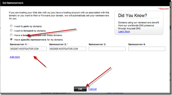 setnameserver thumb How to Change Name Server for Domain from Godaddy