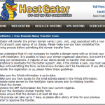 How to use Free Domain Renewal offer from HostGator