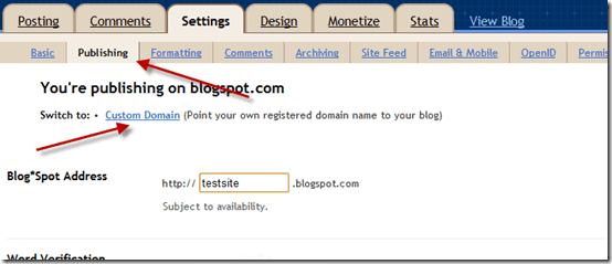 customdomain thumb How to Set up BlogSpot Custom Domain with Godaddy Domain