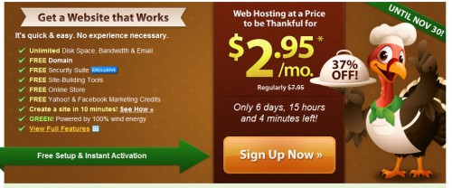 iPage Hosting Discount Black Friday 500x208 Web Hosting Black Friday Sale 2012 Discounts