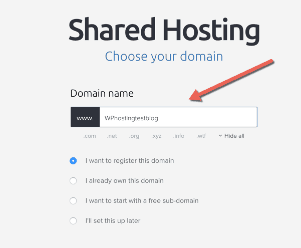 Dreamhost free domain