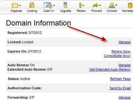 domain security lock