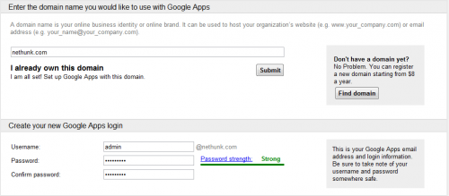 Google apps standard edition 500x219 How to Get Professional Email Address On Bluehost Server