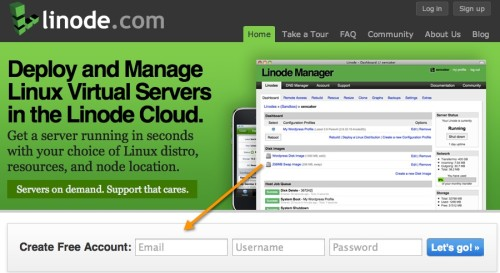 Linode Free trial account