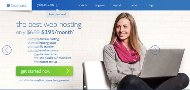 Bluehost Shared Hosting