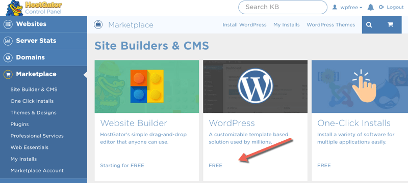 Site Builders and CMS
