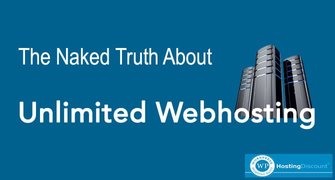 The Naked Truth About Unlimited Web-Hosting
