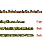 Domain Vs. Subdomain 150x150 5 Points to Consider Before Selecting Domain Name