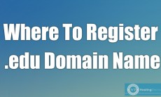 Where To Register a .edu Domain Name