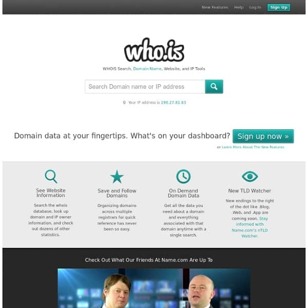 whois search domain website How To Check History Of A Domain Name