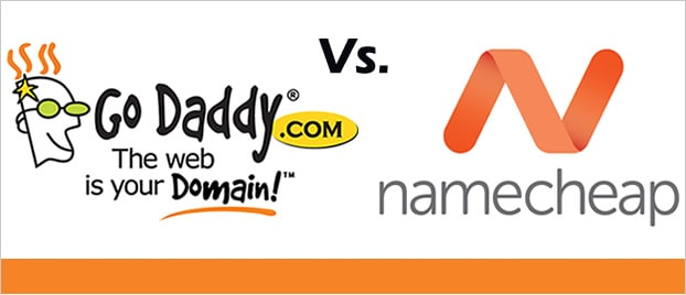 Go Daddy Vs Namecheap