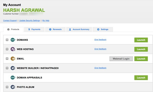 Godaddy Domain registrar