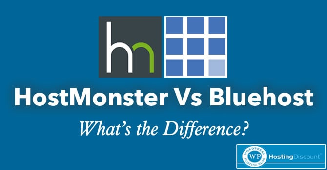 HostMonster Vs. BlueHost: What's the Difference?