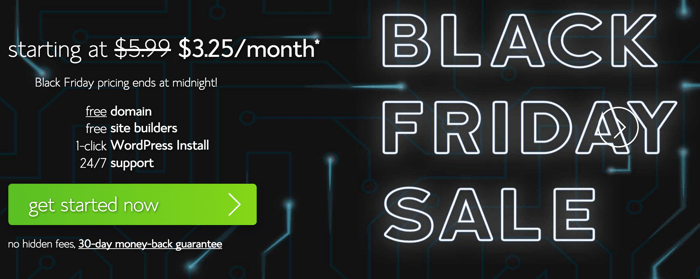 Bluehost BlackFriday Sale