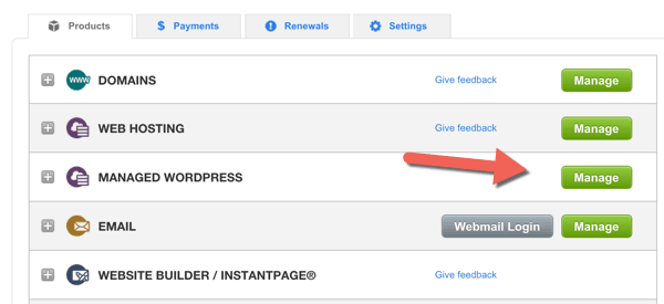 Managed WordPress on Godaddy