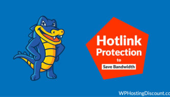 How To Use HostGator Hosting Hotlink Protection To Save Bandwidth