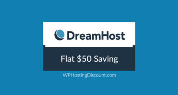 Dreamhost Discount Coupon: Flat $50 Saving
