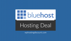 Bluehost Hosting Deal: Save up to 50%