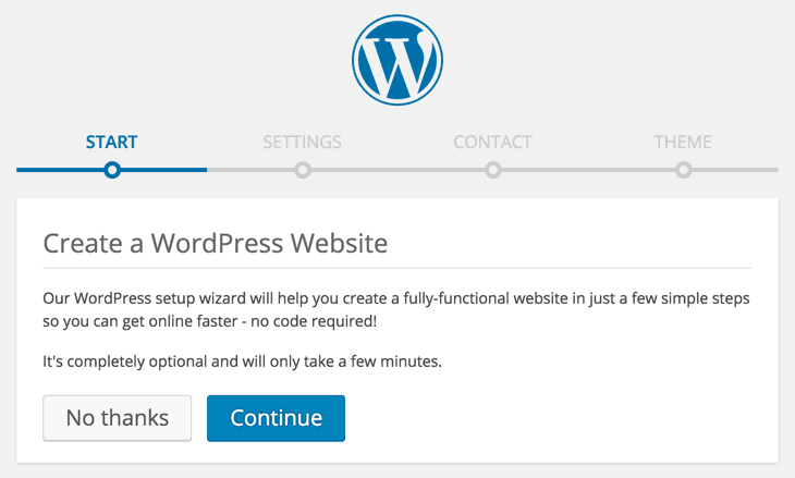 WordPress Godaddy Installation