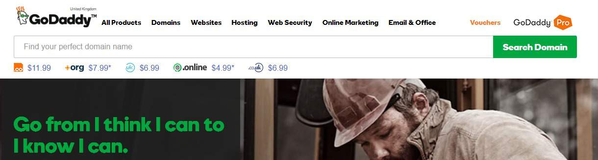 $1 Domain From GoDaddy: Not To Miss Deal From GoDaddy