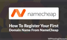 How To Register Your First Domain Name From Namecheap