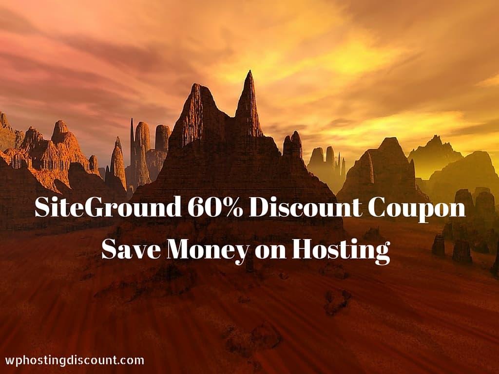 SiteGround Hosting Discount: Massive 60% off