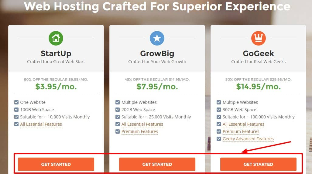 Web Hosting Crafted For Top Website Performance Satisfaction
