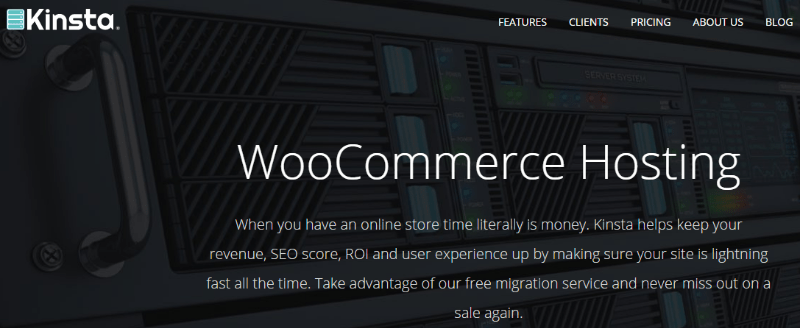 kinsta-woocommerce-hosting